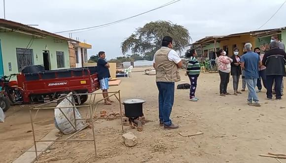 Numerosas familias de Piura resultaron afectadas por el sismo registrado el pasado 30 de julio. (Foto: Municipalidad Provincial de Sullana)