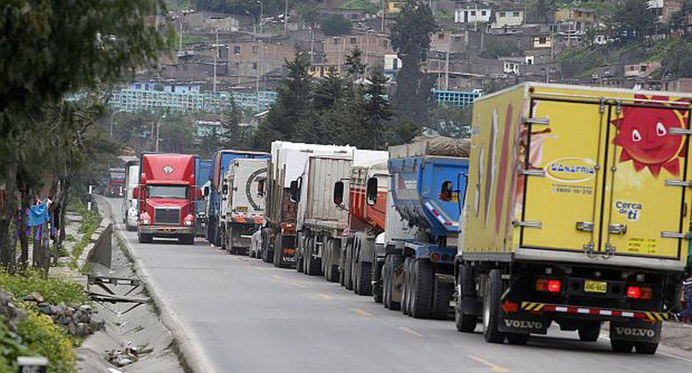 Vías alternas permitirán disminuir la congestión vehicular en la Carretera Central. (Foto: USI)<br>