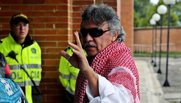 La fiscalía acusa a Santrich de realizar narcotráfico luego de la firma del acuerdo de paz entre las FARC y el gobierno de Colombia. (Foto: EFE)