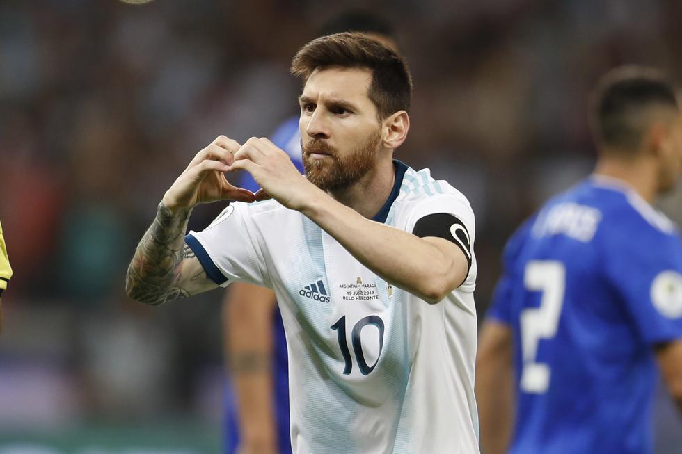 Messi salvó de una derrota a Argentina. (Foto: AP)