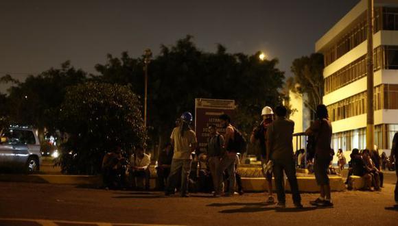 San Marcos: Rector asegura que ya retornó la calma, pero estudiantes siguen con la toma. (Renzo Salazar/Perú21)