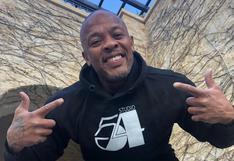 Dr. Dre preocupa a fans tras ser hospitalizado tras sufrir un aneurisma cerebral