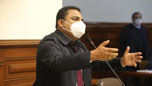 Aron Espinoza dijo que hay otras bancadas que respaldan nueva moción de vacancia contra Martín Vizcarra. (Foto: Congreso)
