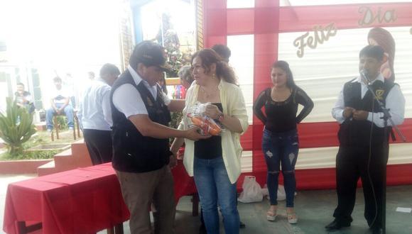 Las internas del penal de Chiclayo participaron de las actividades por el Día de la Madre.