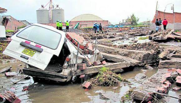 Fenómeno El Niño: Intensas lluvias afectan Tumbes, Piura, Iquitos, Arequipa, Puno y Cusco. (Miguel Idme)