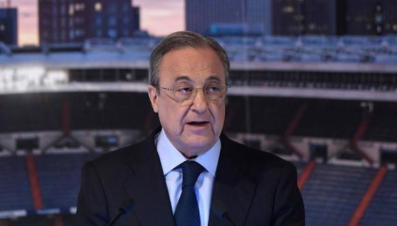 Florentino Pérez habló sobre los fichajes de Real Madrid en la siguiente temporada. (Foto: AFP)