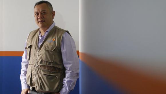 Ricardo Pun Chong, semifinalista de CNN Héroes. (foto Mario Zapata).