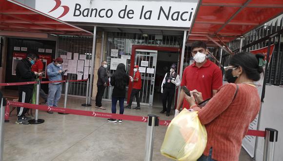 Desde mayo pasado, el Gobierno viene haciendo entrega del Bono Familiar Universal de S/ 760. (Foto: Cesar Campos / GEC)