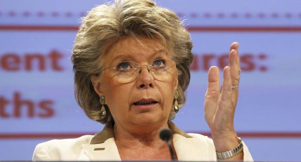 Viviane Reding. (EFE)