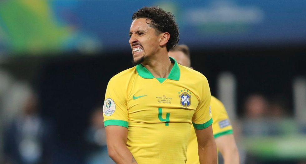 Brasil venció 4-3 en penales a Paraguay. (AFP)