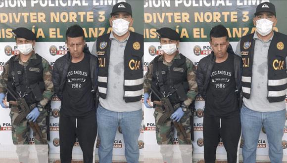 La agraviada dio aviso a las autoridades de la zona y estas activaron inmediatamente el Plan Cerco para capturan al joven ladrón. (PNP)