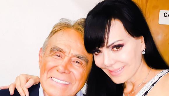 Maribel Guardia y su sentida despedida al actor Héctor Suárez. (Foto: Instagram)