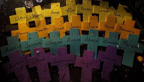 Nombres de los asesinados por Adam Lanza. (Reuters)