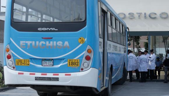 El pasado 30 de diciembre, tres hampones subieron como falsos pasajeros al bus