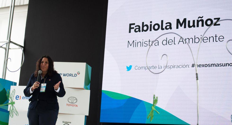 Fabiola Muñoz durante el evento Nexos+1. (Foto: Nexos +1)