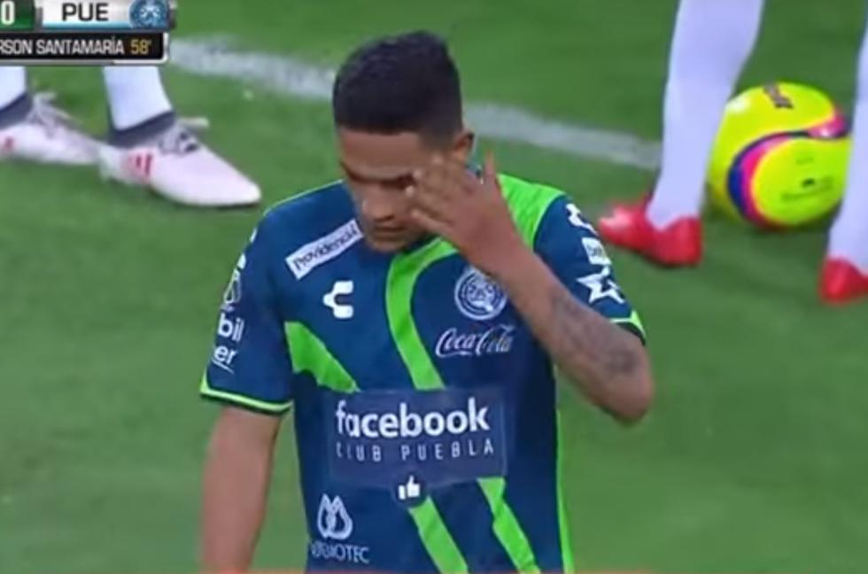 Anderson Santamaría tuvo una actuación discreta. (YouTube)