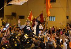 Así fue el reencuentro entre Mark Vito y Keiko Fujimori a su salida del penal Anexo de Mujeres [VIDEO]