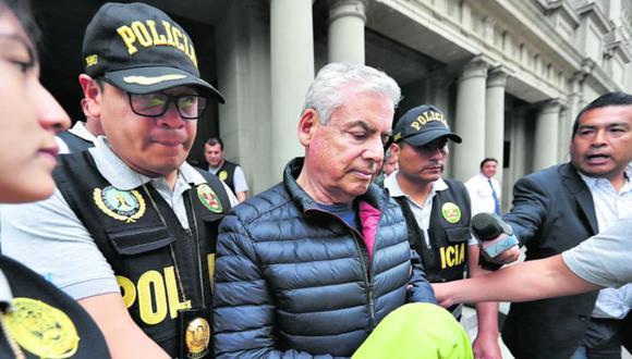 César Villanueva, así como Alberto Rossel, cumplen 18 meses de detención domiciliaria. (Foto: GEC)