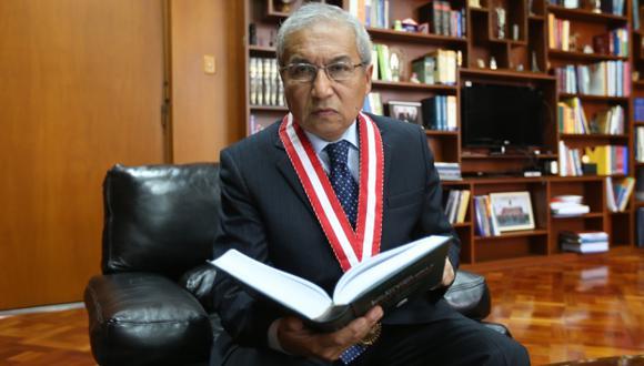 Pedro Chávarry quiere permanecer en la Fiscalía. (USI)