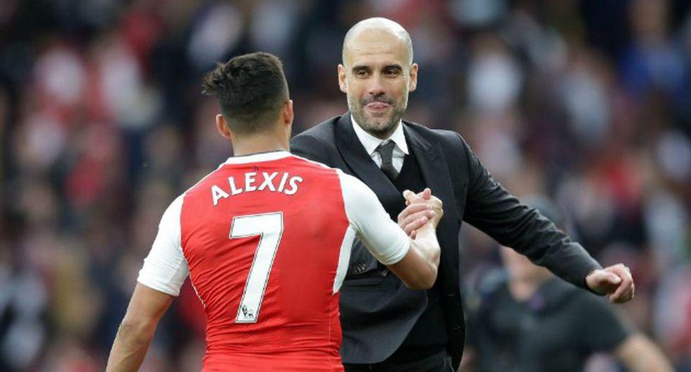 Pep Guardiola quiere a Sánchez en su equipo. (AFP)