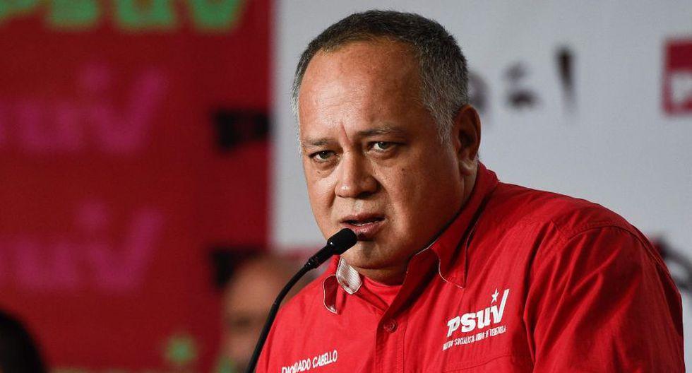 Diosdado Cabello: Más diputados serán procesados por rebelión contra Nicolás Maduro. (AFP)