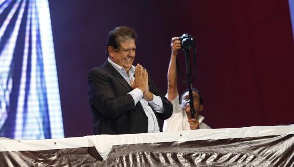 García dice que informe de 'megacomisión' busca eliminar adversario electoral. (César Fajardo)