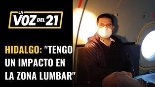 Periodistas atacados por la Policía habla José Miguel Hidalgo