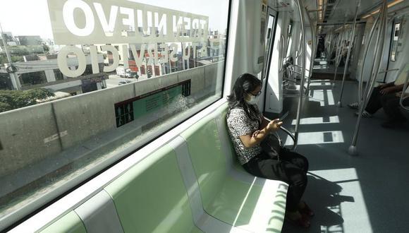 El servicio regular de la Línea 1 del Metro de Lima se encuentra con demoras en todas las estaciones. (Foto:GEC)