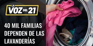 Más de 40 mil familias afectadas por cierre de lavanderías