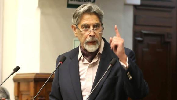 Francisco Sagasti asumirá por sucesión constitucional la presidencia de la República. (Foto: Andina)