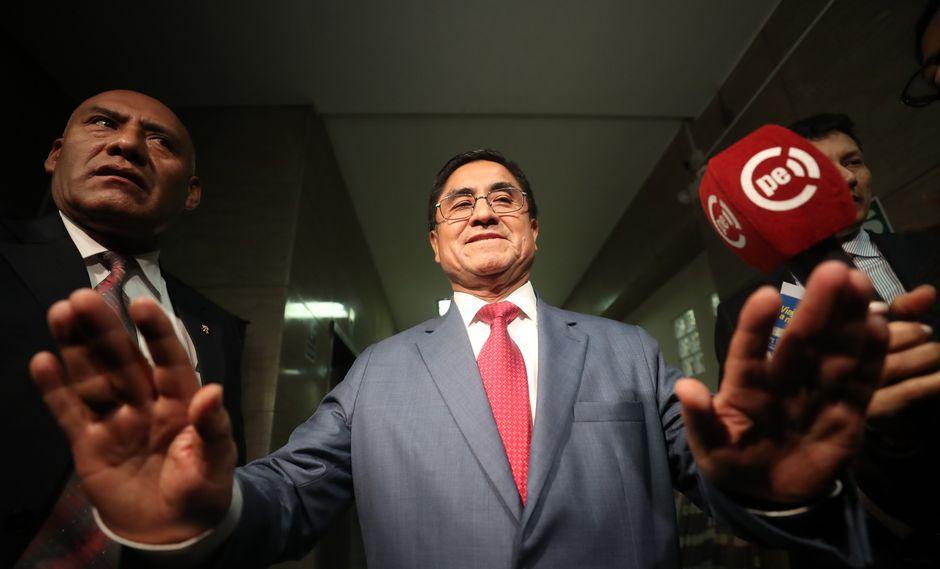 César Hinostroza fue detenido en España esta madrugada. (Perú21)