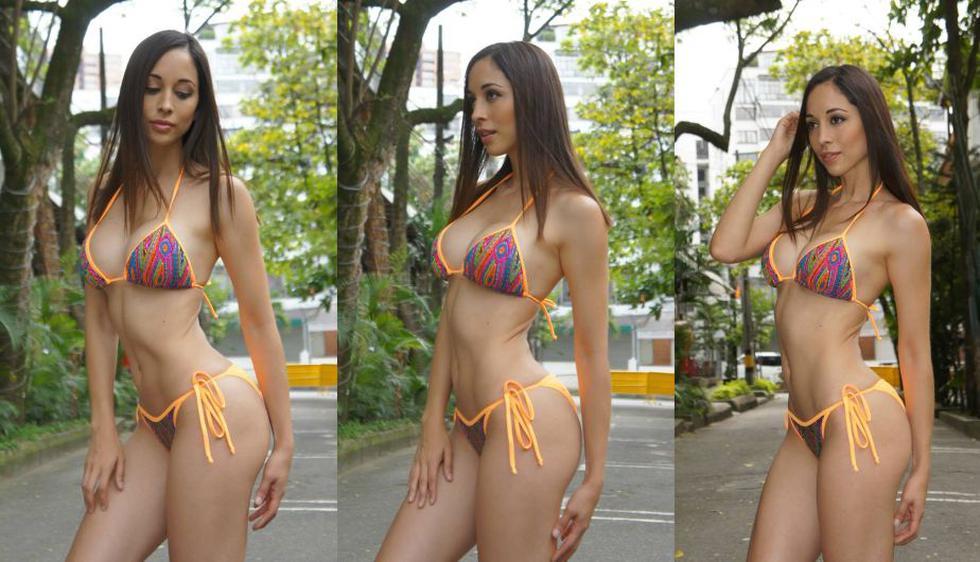 Olinda Castañeda forma parte del trío Chicas Tentación. (Facebook)