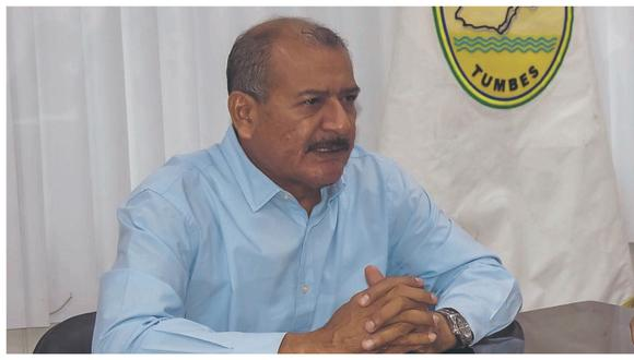 Tumbes: El gobernador regional de Tumbes, Wilmer Dios Benites, fue sentenciado a 4 años de prisión efectiva por el presunto delito de colusión agravada. (Foto: Archivo GEC)