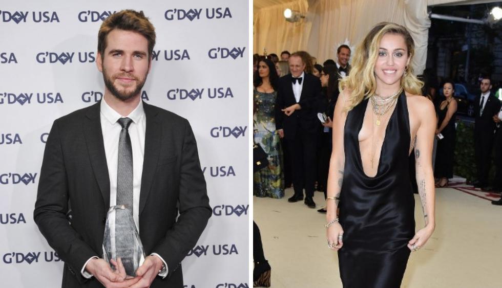 Liam Hemsworth revela que Miley Cyrus cambió su apellido al casarse (Foto: AFP)