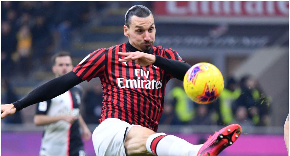 Edad 38: Zlatan Ibrahimovic juega en AC Milan y está valorizado en 3,8 millones de dólares (Foto AFP)