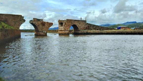 El 23 de julio de 1980, el puente Calicante, situado en Lampa (Puno), fue declarado Patrimonio Cultural de la Nación. (Instagram)