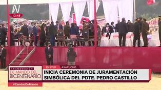 Evo Morales y Alberto Fernández desmantelaron escenario en juramentación de Pedro Castillo