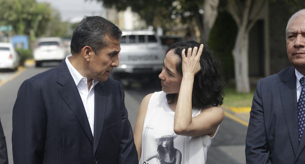 Ollanta Humala defendió a Nadine Heredia tras pedido de impedimento de salida en su contra. (Foto: Hugo Perez/GEC)