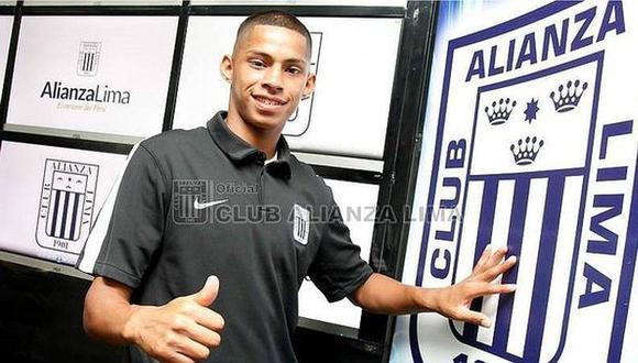 Kevin Quevedo vistió la camiseta de Universitario en el 2016. (Alianza Lima)