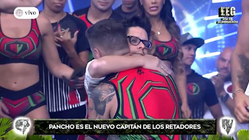 """""""Esto es guerra"""": Gian Piero Díaz decidió que 'Pancho' Rodríguez sea capitán de los 'retadores'. (Foto: Captura de video)"""