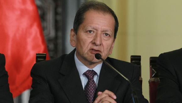 Jorge Merino dijo que reunión fue esclarecedora. (Andina)