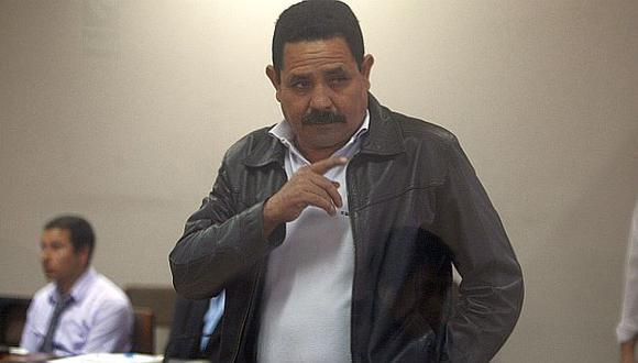 Fabio Chávez Peralta durante la audiencia en la que se le leyó su sentencia. (David Vexelman)