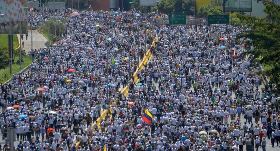 Protestas han dejado 59 muertos hasta el momento (AFP).