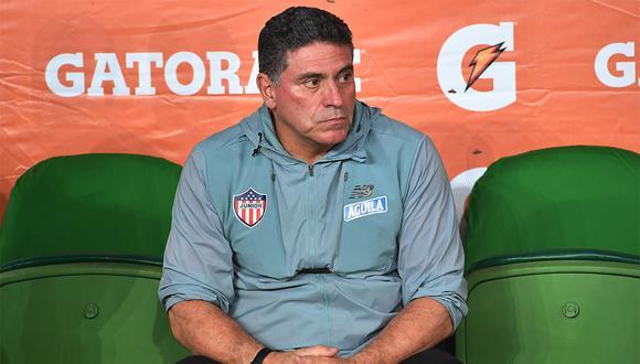 Luis Fernando Suárez dejó Junior tras quedar eliminado de la Copa Libertadores. (Foto: AFP)