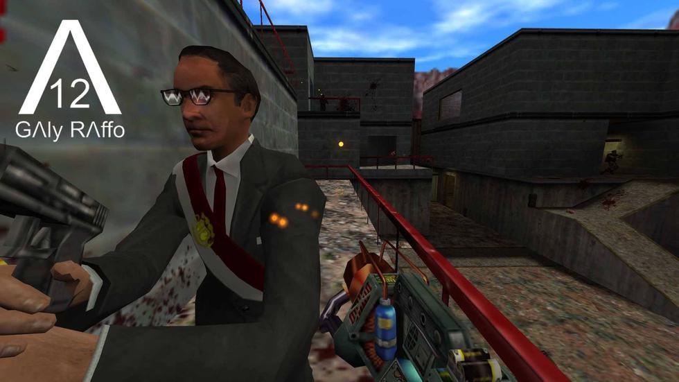 Ahora puedes jugar como el presidente Martín Vizcarra en Half Life gracias a este peculiar mod. (Facebook)