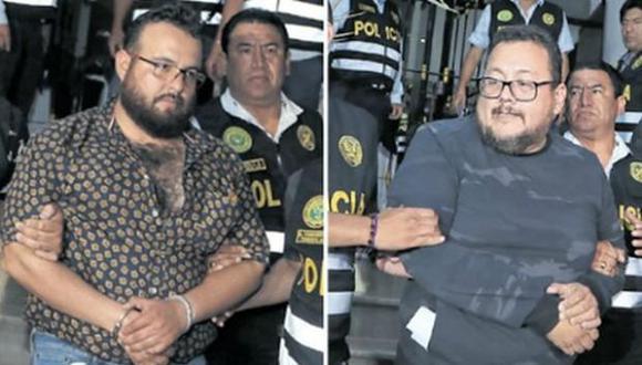 Los hermanos Chávez Sotelo habían sido detenidos en Lima el pasado 21 de marzo acusados de extorsión. (Foto: GEC)