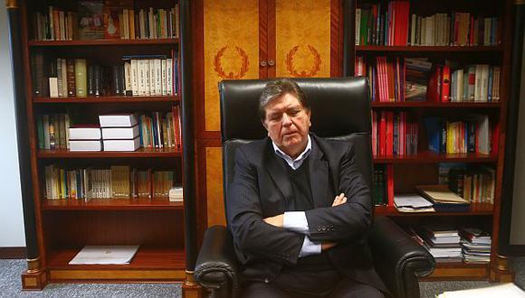Esperan que Alan García colabore con la investigación en su contra. (Perú21)
