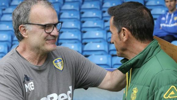 El pedido de Marcelo Bielsa a sus jugadores. (Foto: Leeds United).