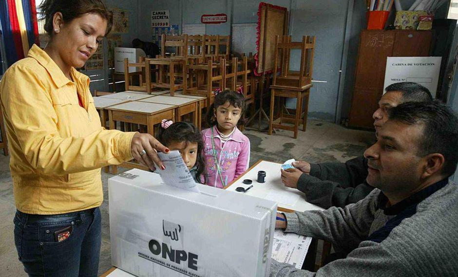 Si no puedes ir a votar o cumplir con tu deber cívico como miembro de mesa esta es la información que necesitas (Foto: Andina)