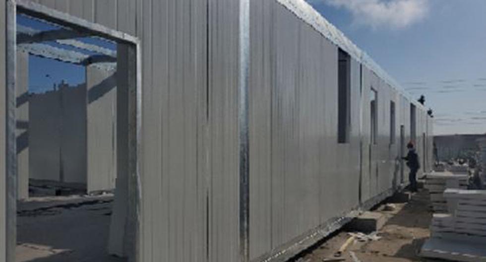Piura: Hospital modular de Talara empezará a funcionar en octubre